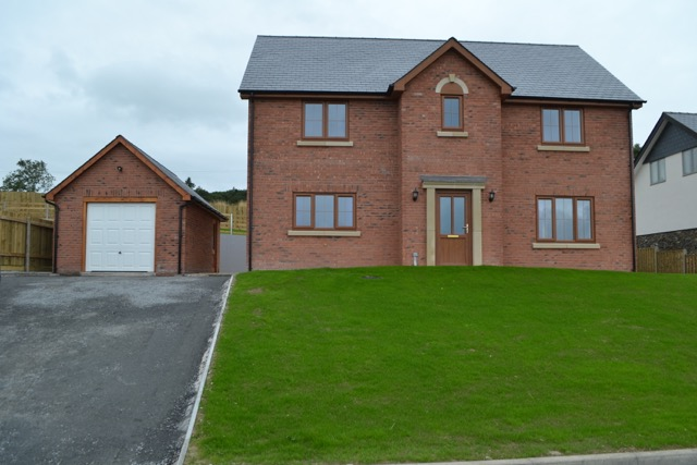 Open Day for new luxury homes development in Llanidloes