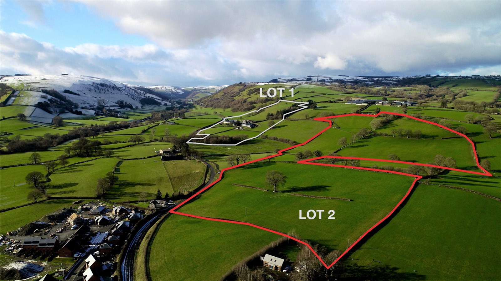 160-acres Mid Wales farm goes in the market
