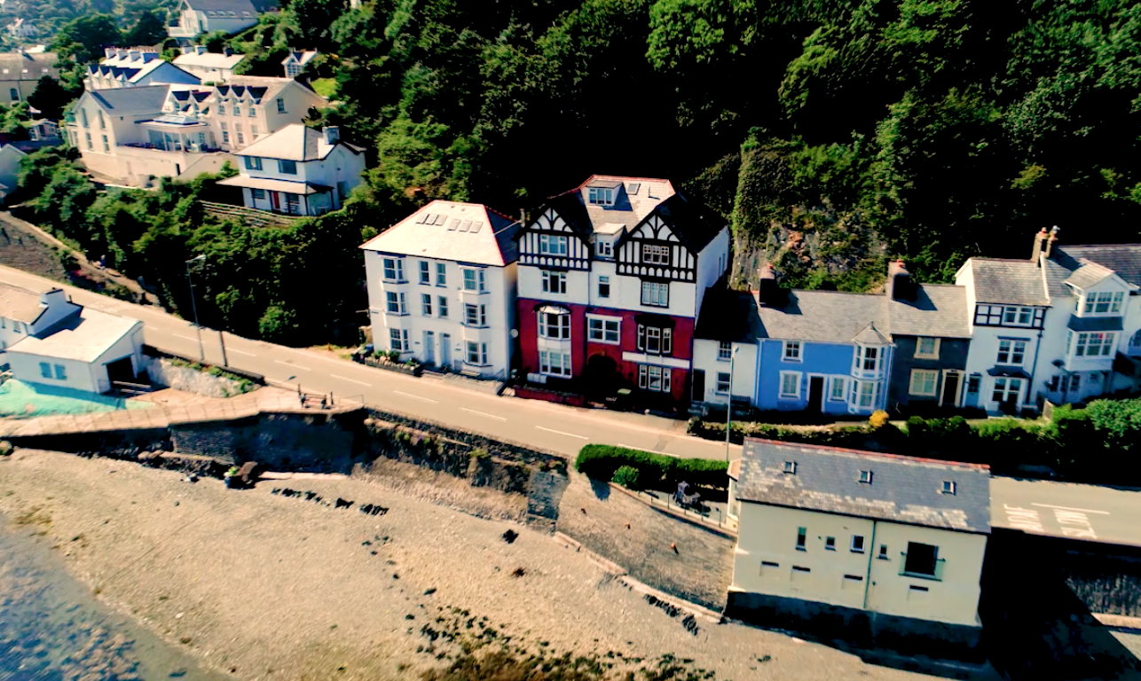 A bird's eye view - just one of many ways we market properties