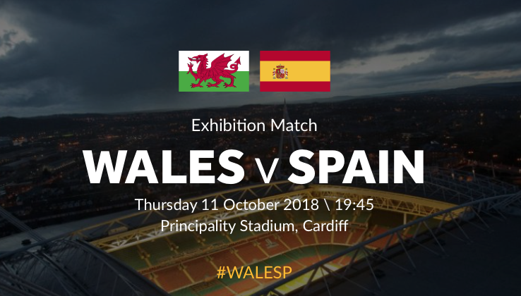Win tickets to Wales v Spain