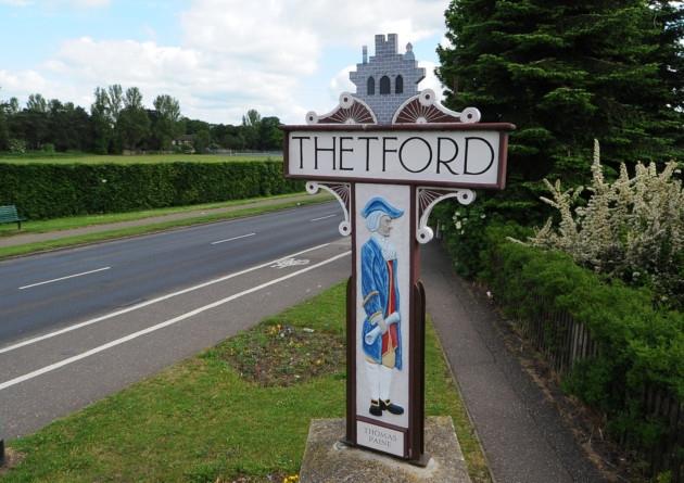 thetford_town_sign