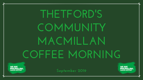 thetfords_community_macmillan_coffee_morning