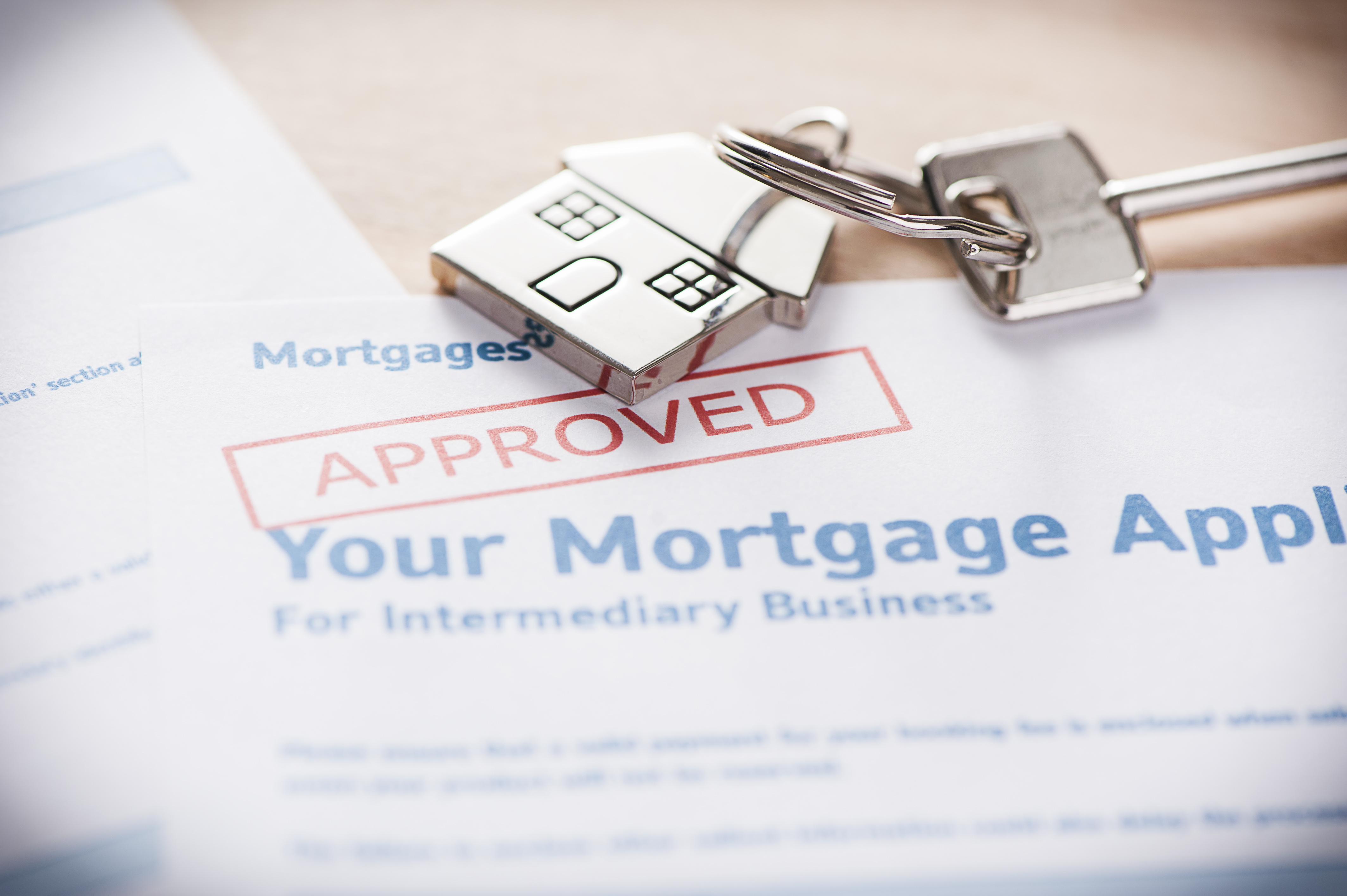 approved mortgage documentation buy a house