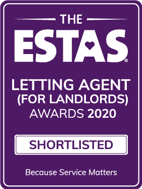 Shortlisted for Best Regional Letting Agent Award 2020