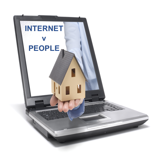 """Will the Internet Replace Estate Agents?"""