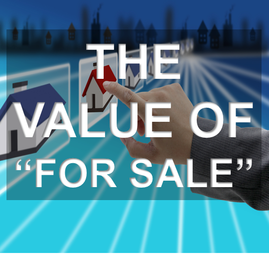 The Value of For Sale