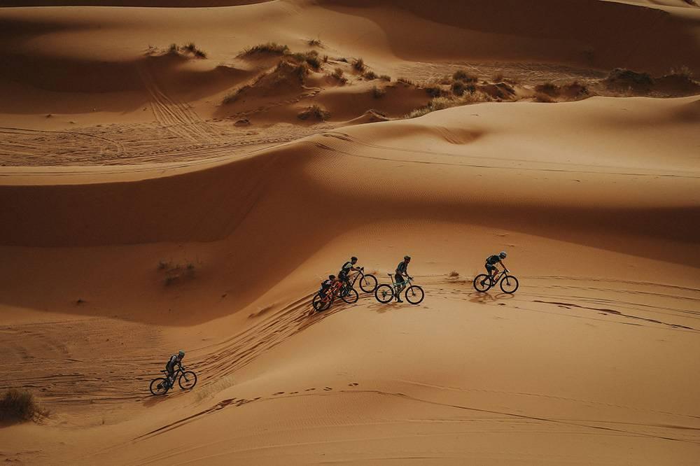 Fine & Country Spain Team  participating in Titan Desert 2019