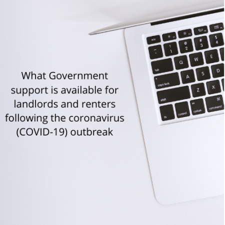 Government support available for landlords and renters during the COVID-19 outbreak