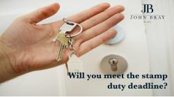 Will you meet the stamp duty deadline?