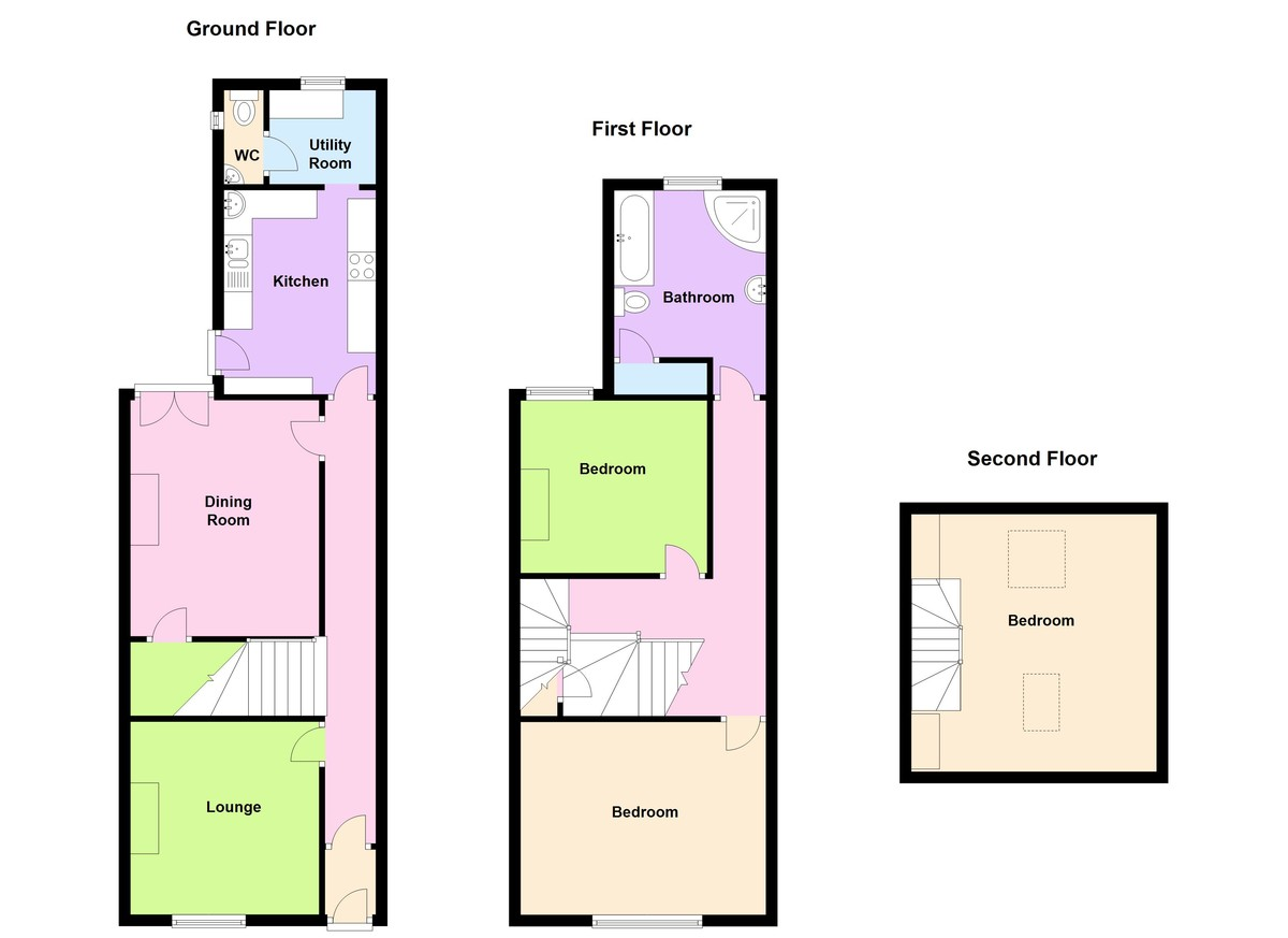 3 Bedroom Terraced House For Sale In Weymouth