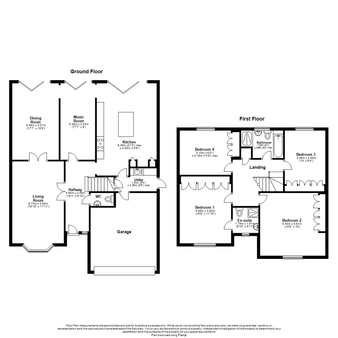 4 Bedroom Detached House For Sale In Northampton