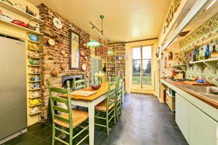 Raised Ground Floor Scullery/Kitchen