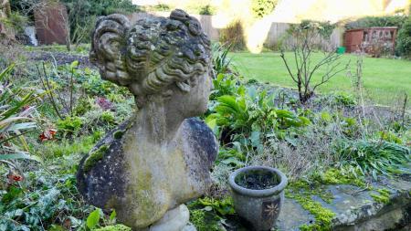 across garden alt