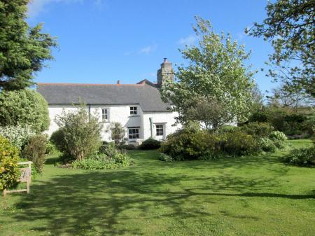 Colvennor Farmhouse from Rear Garden 24 May 2021`