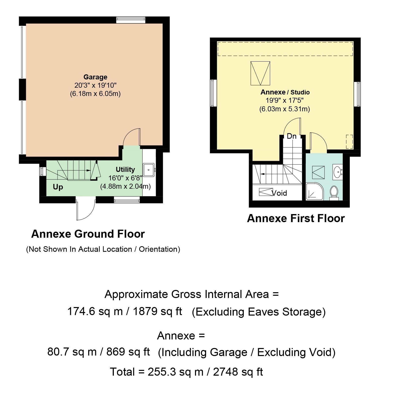 Separate Garage Block Possibly With Studio Accommodation: 5 Bedroom House For Sale In Paxford