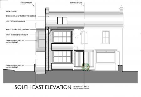 Proposed SE elevation
