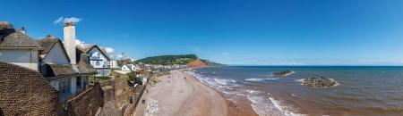 View Over Sidmouth Beach