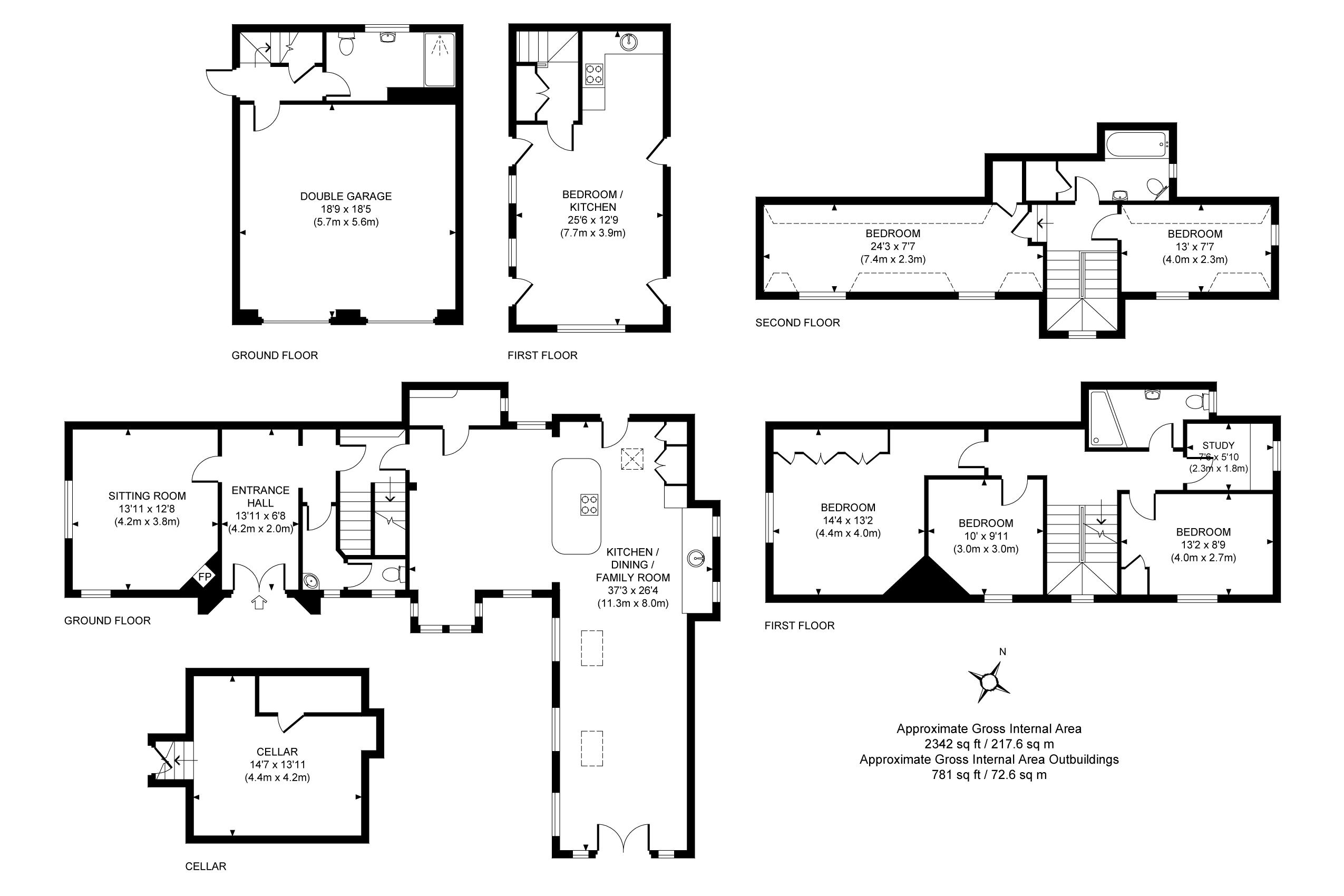5 Bedroom Semi Detached House For Sale In Lindfield Epc Fuse Box Floorplan