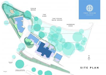 The Yealm Site Plan