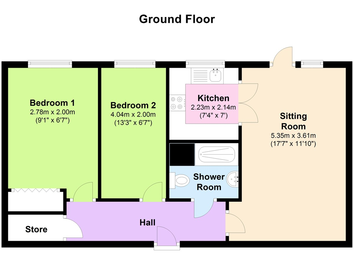 2 Bedroom Apartment For Sale In Bedale