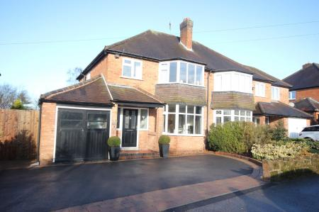 Cheltondale Road, Solihull 4 bed semi-detached house for ...