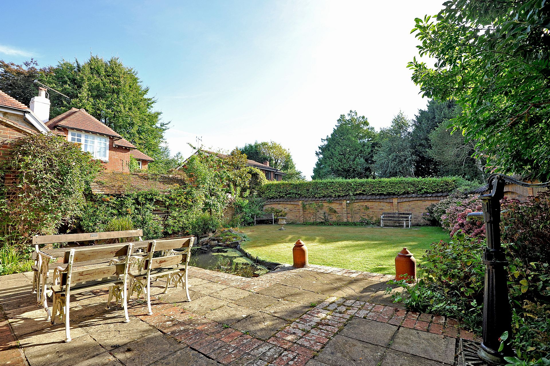 Properties For Sale With Walled Gardens