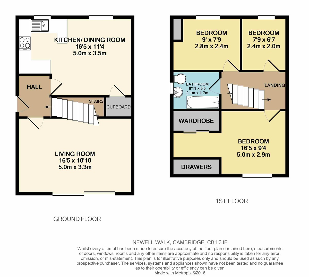 3 Bedroom Semi-Detached House For Rent In Cambridge
