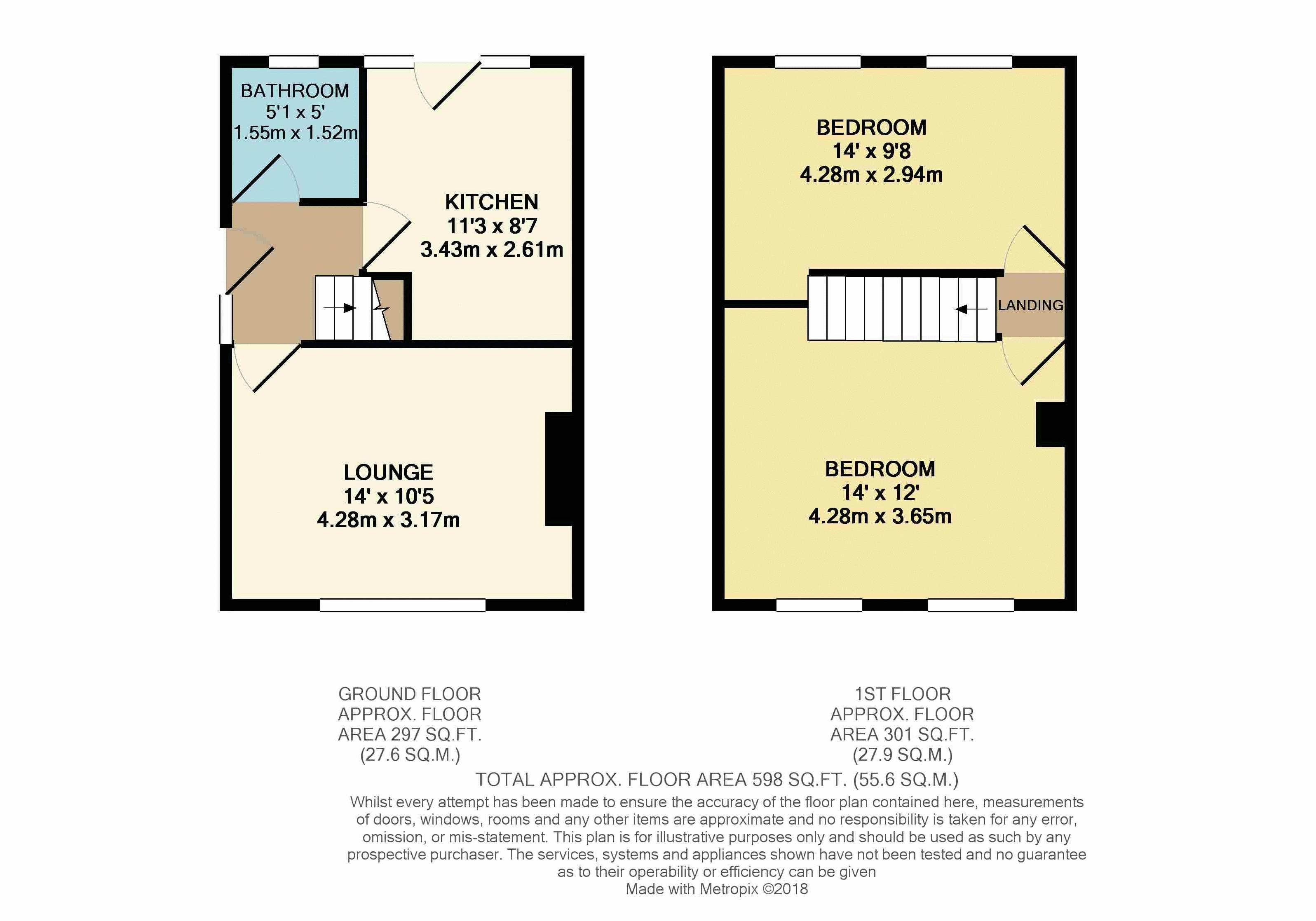 2 bedroom semi detached house for sale in luton for How much is a bedroom worth in an appraisal