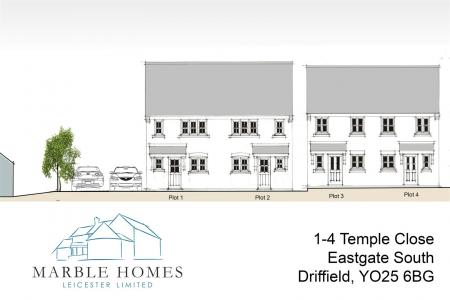 Plots 1-4 Temple Close - Street Scene Elevations.j
