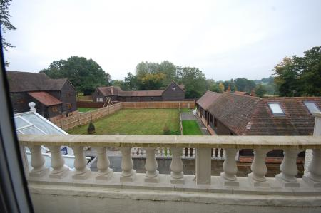 View of barns