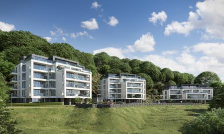 Garden Apartment, Sandgate Pavilions, Sandgate, Kent