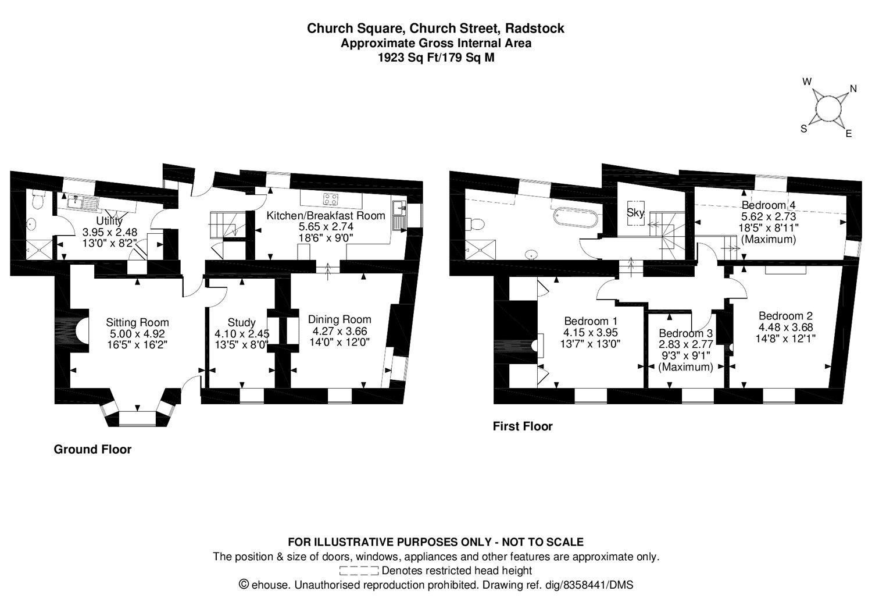 4 Bedroom House For Sale In Kilmersdon Average Cost Of Rewiring A Bed Floorplan