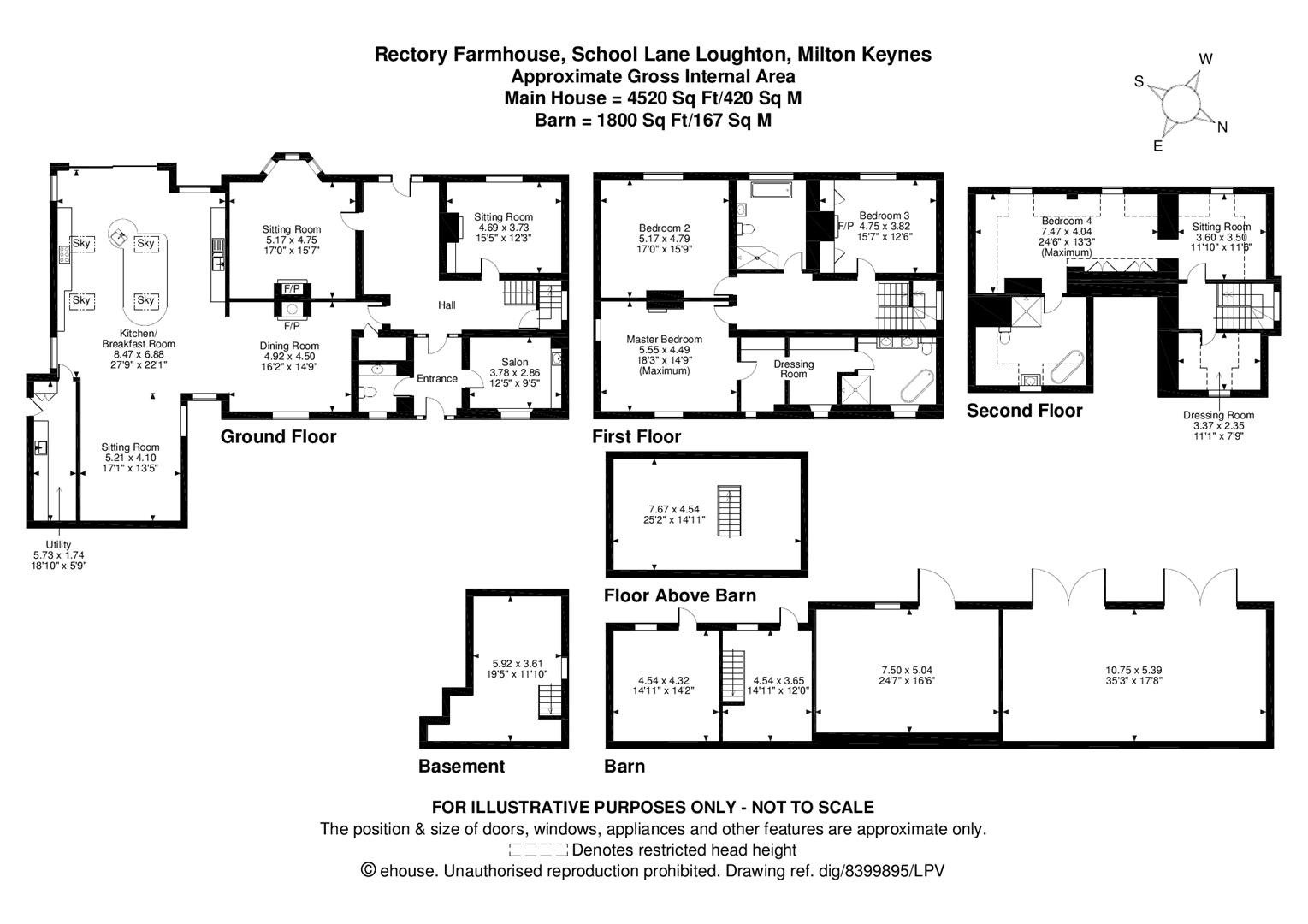 5 bedroom house for sale in loughton  milton keynes