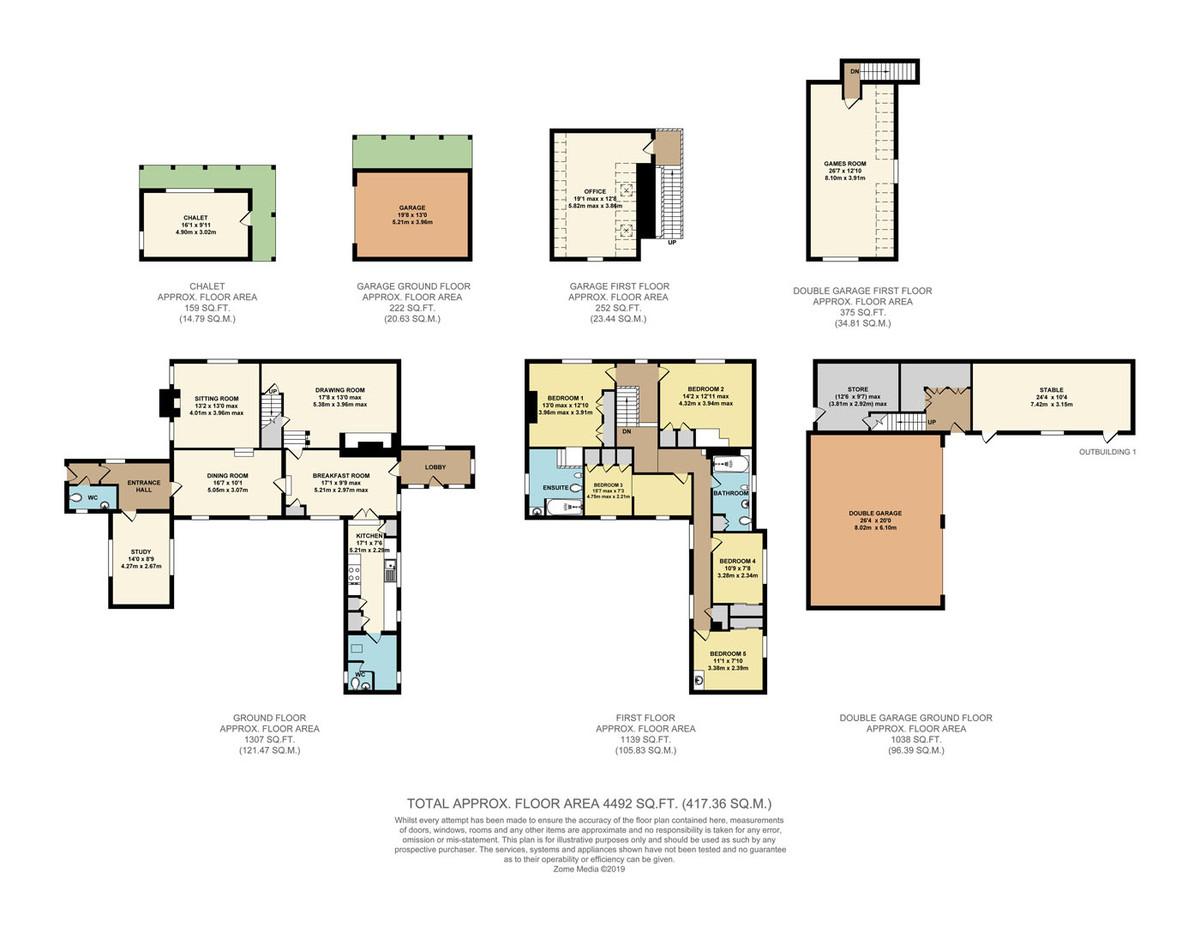 5 Bedroom Detached House For Sale In Tunbridge Wells
