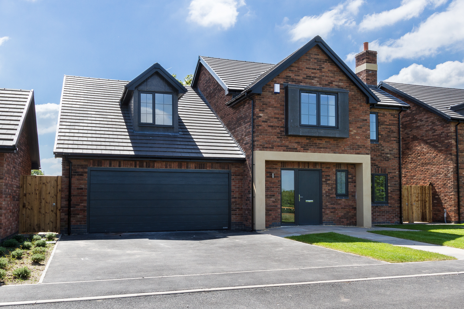 4 Bedroom Detached House For Sale In Audlem Full Brick Brand New Home On Wiring To Garage An Epc Is Not Available This Property