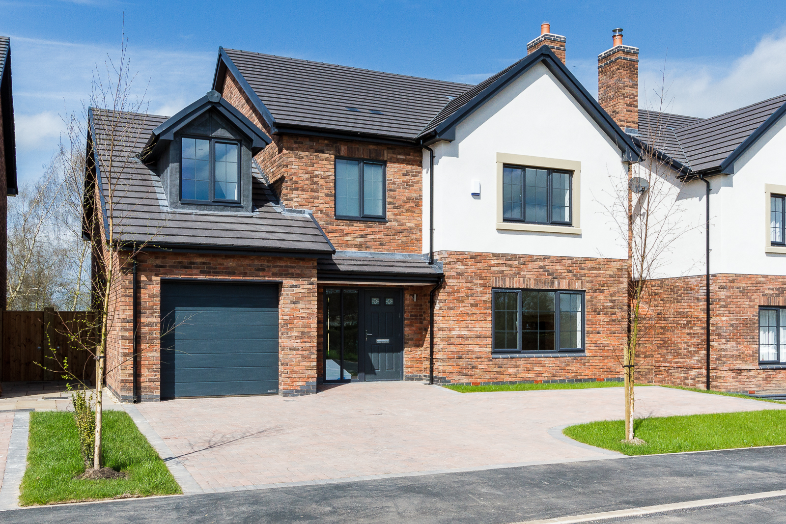 4 Bedroom Detached House For Sale In Cheshire Full Brick Brand New Home On Wiring To Garage An Epc Is Not Available This Property