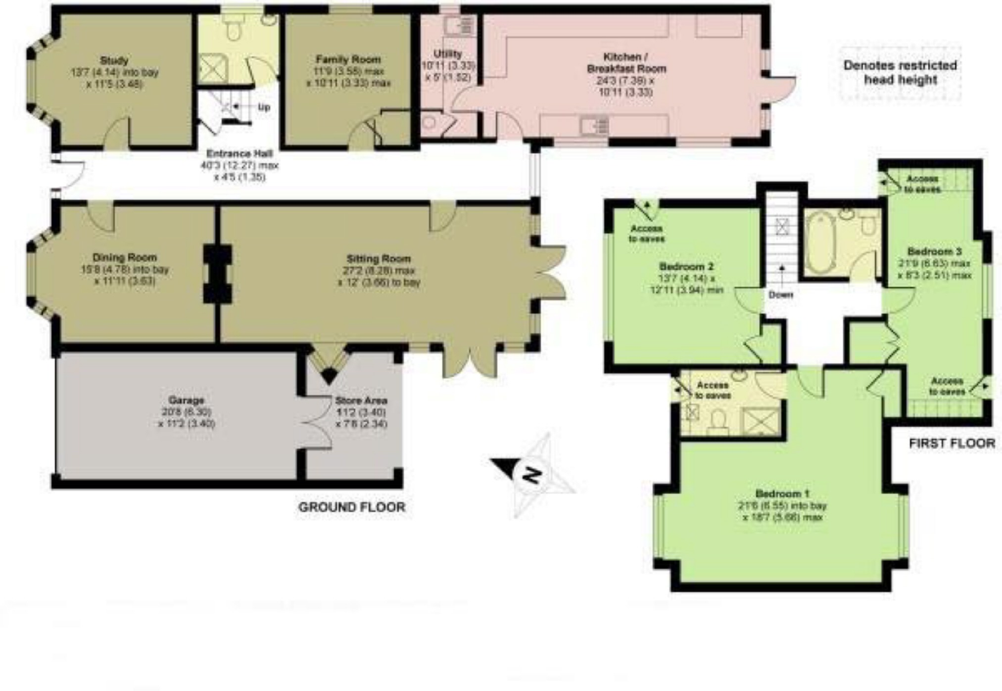 4 bedroom detached house for sale in bromham for How much is a bedroom worth in an appraisal