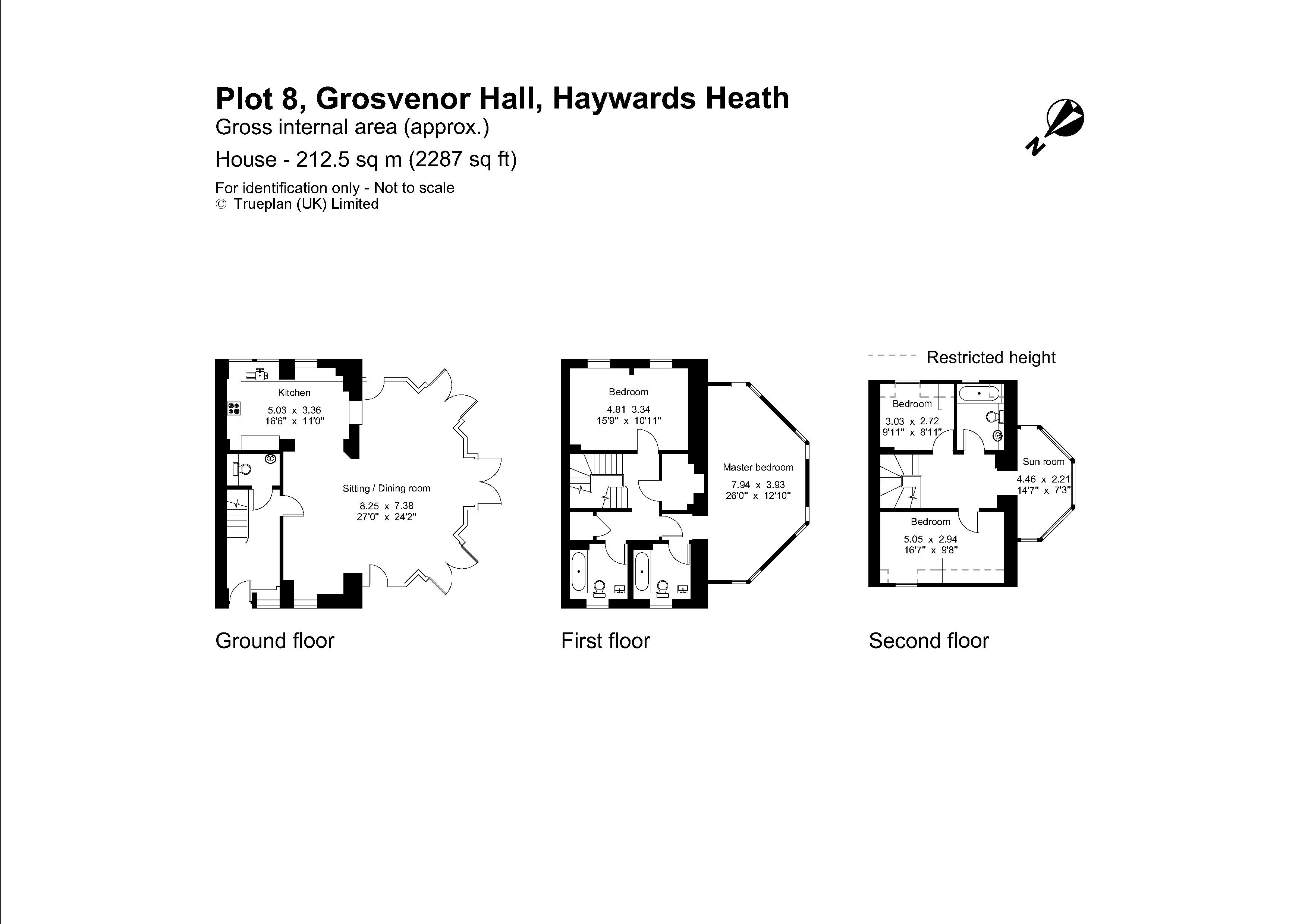 4 Bedroom Town House For Sale In Haywards Heath Average Cost Of Rewiring A Bed Floorplan