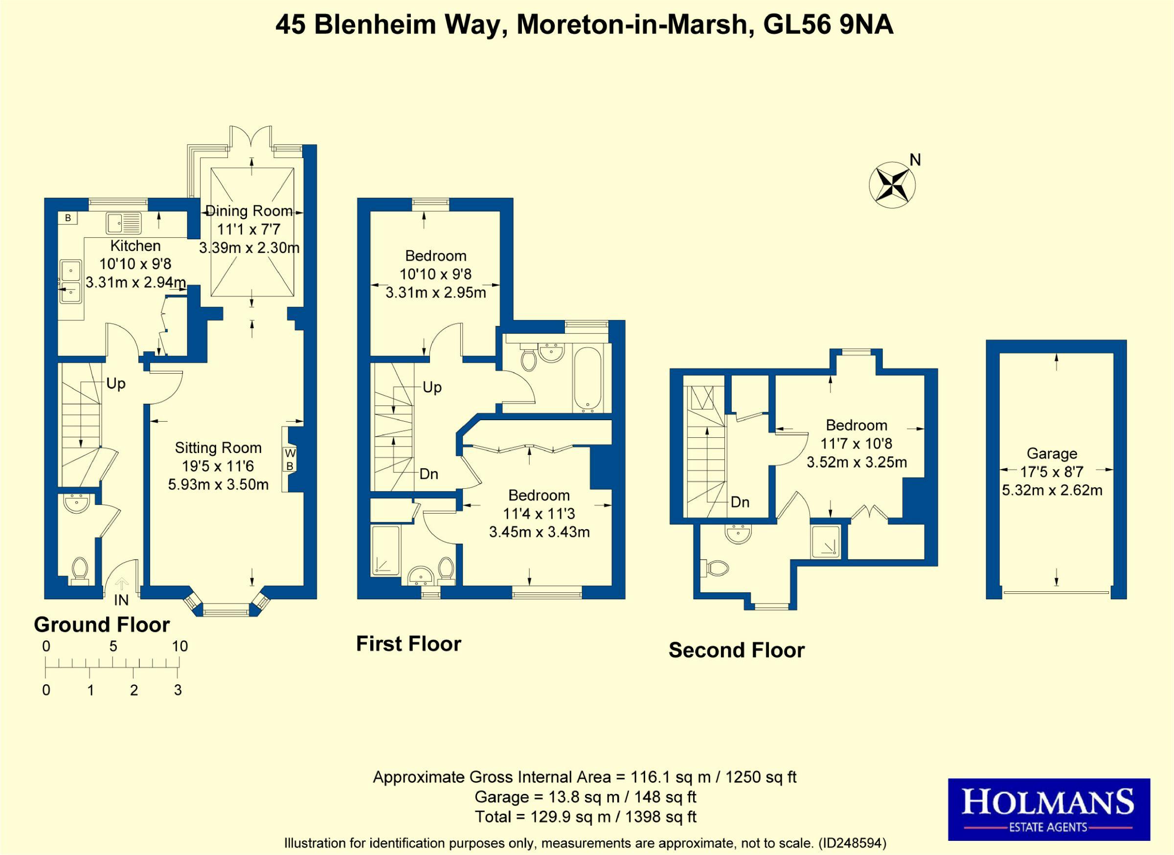 3 bedroom Terraced House for sale in Moreton-in-marsh