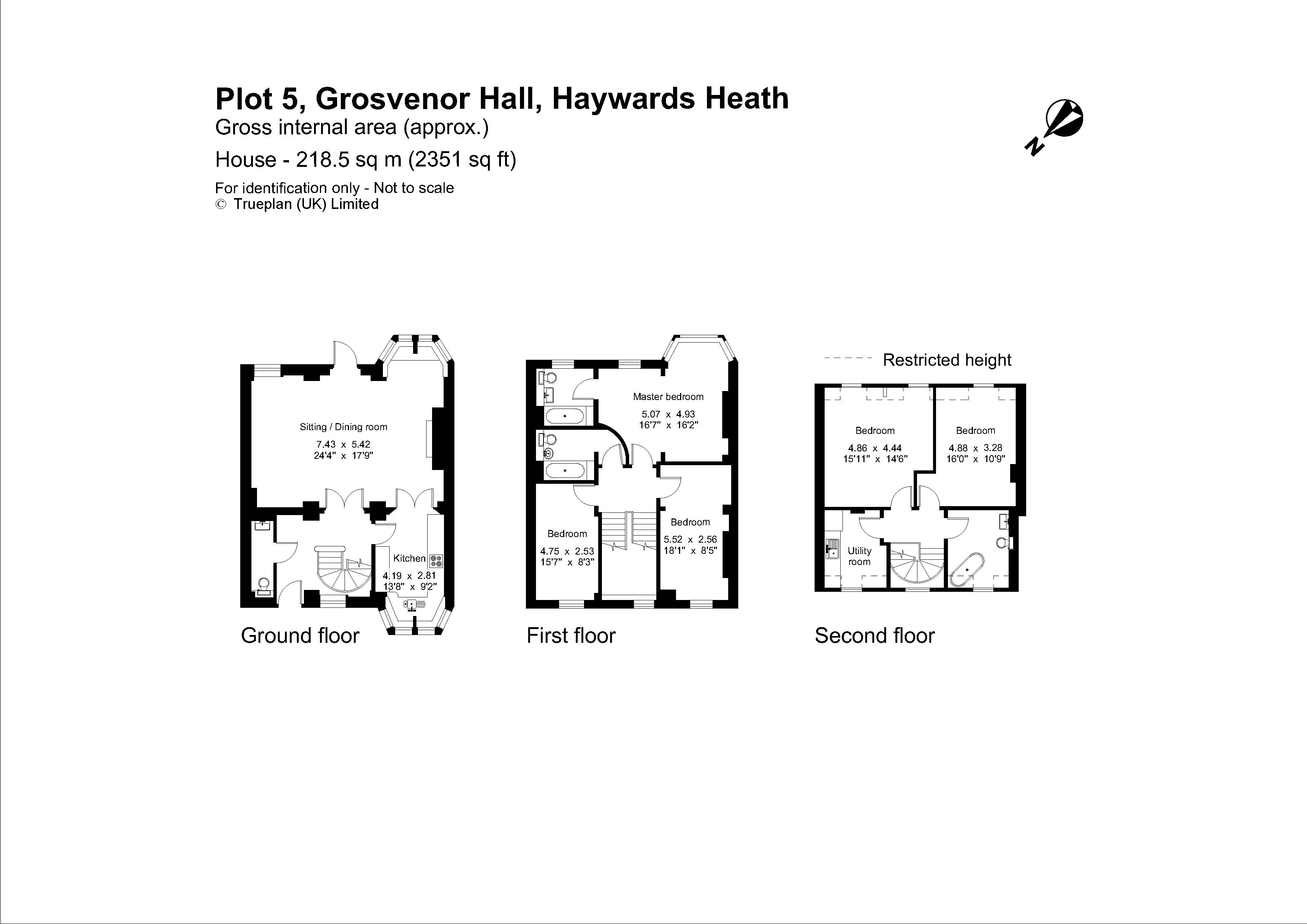 5 Bedroom Town House For Sale In Haywards Heath Average Cost Of Rewiring A 2 Floorplan