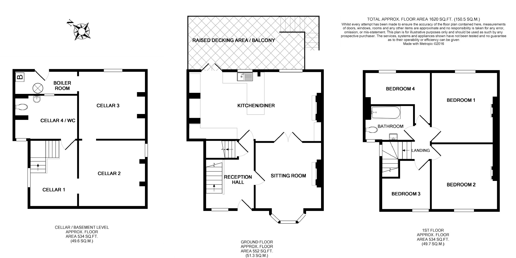 4 Bedroom Semi Detached House For Sale In Llanfyllin Average Cost Of Rewiring A Bed Floorplan