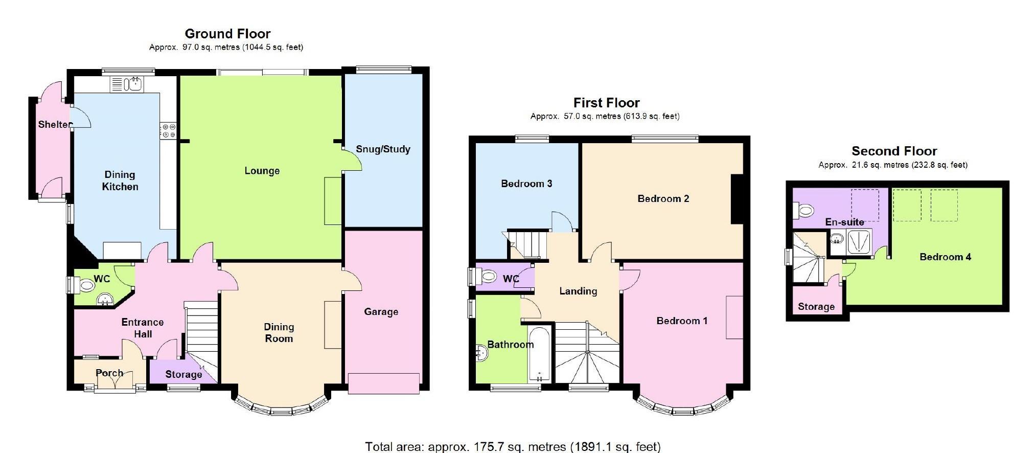 Bedroom Properties For Sale In West Bridgford