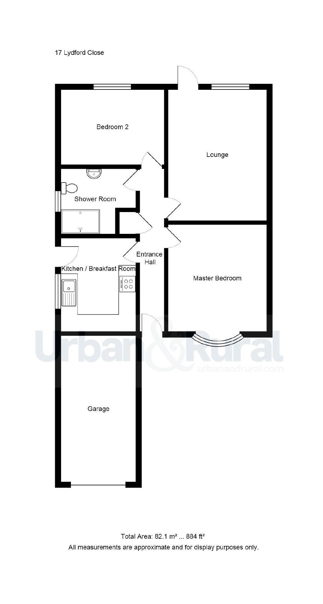 2 Bedroom Semi Detached Bungalow For Sale In Bedford
