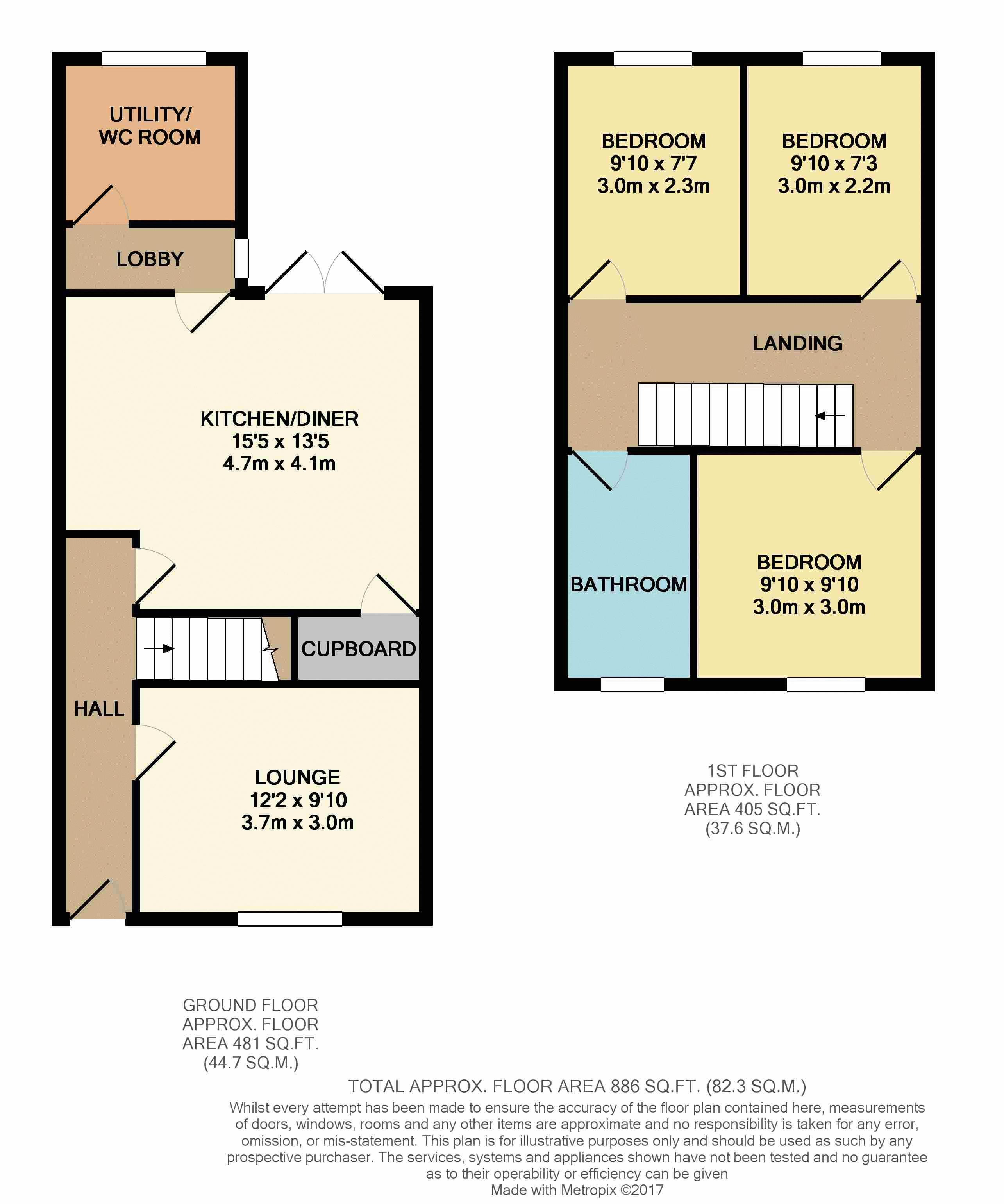 3 bedroom house for sale in cranfield for How much is a bedroom worth in an appraisal