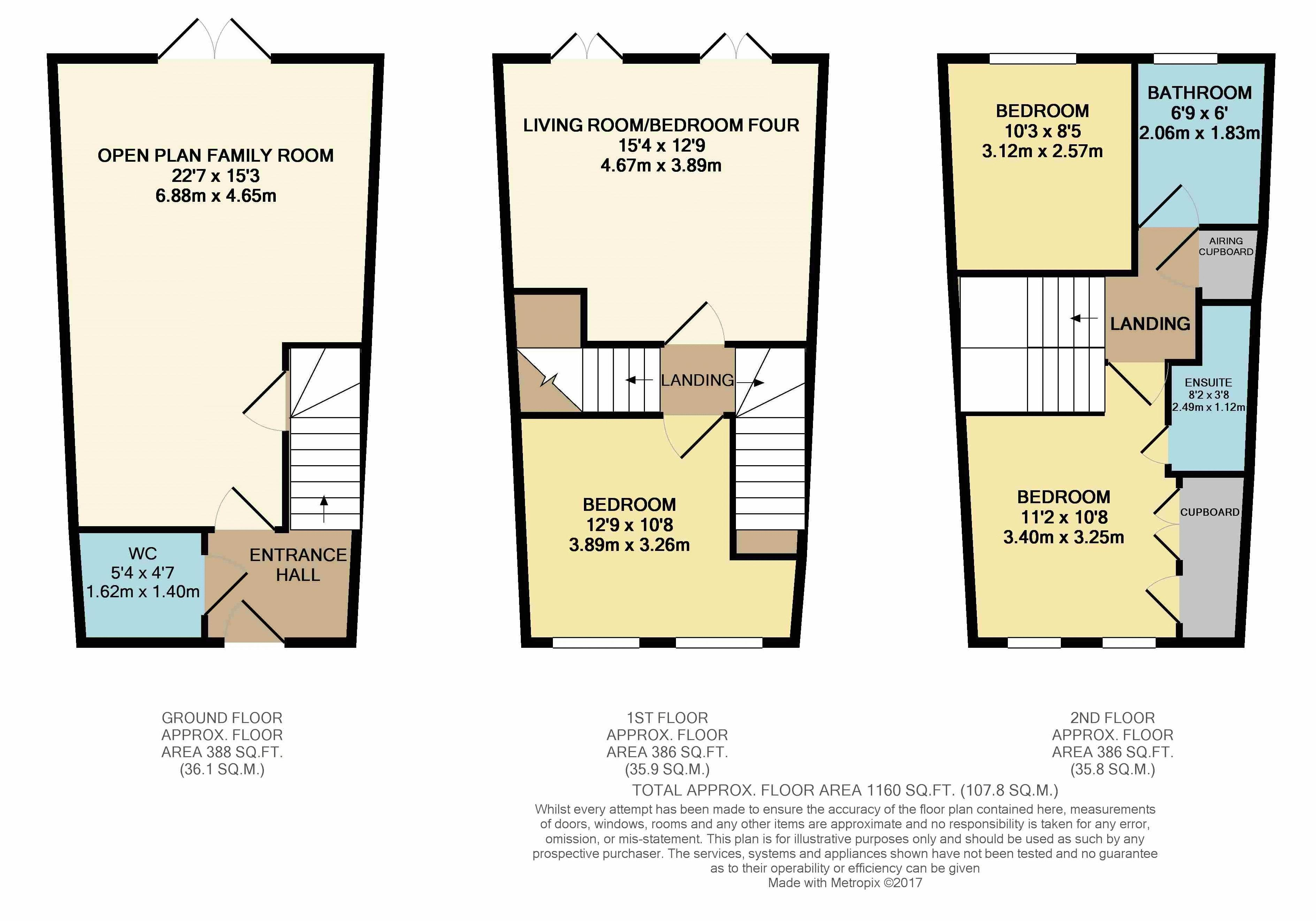 Key Town Bedroom Set 3 Bedroom House For Sale In Dunstable