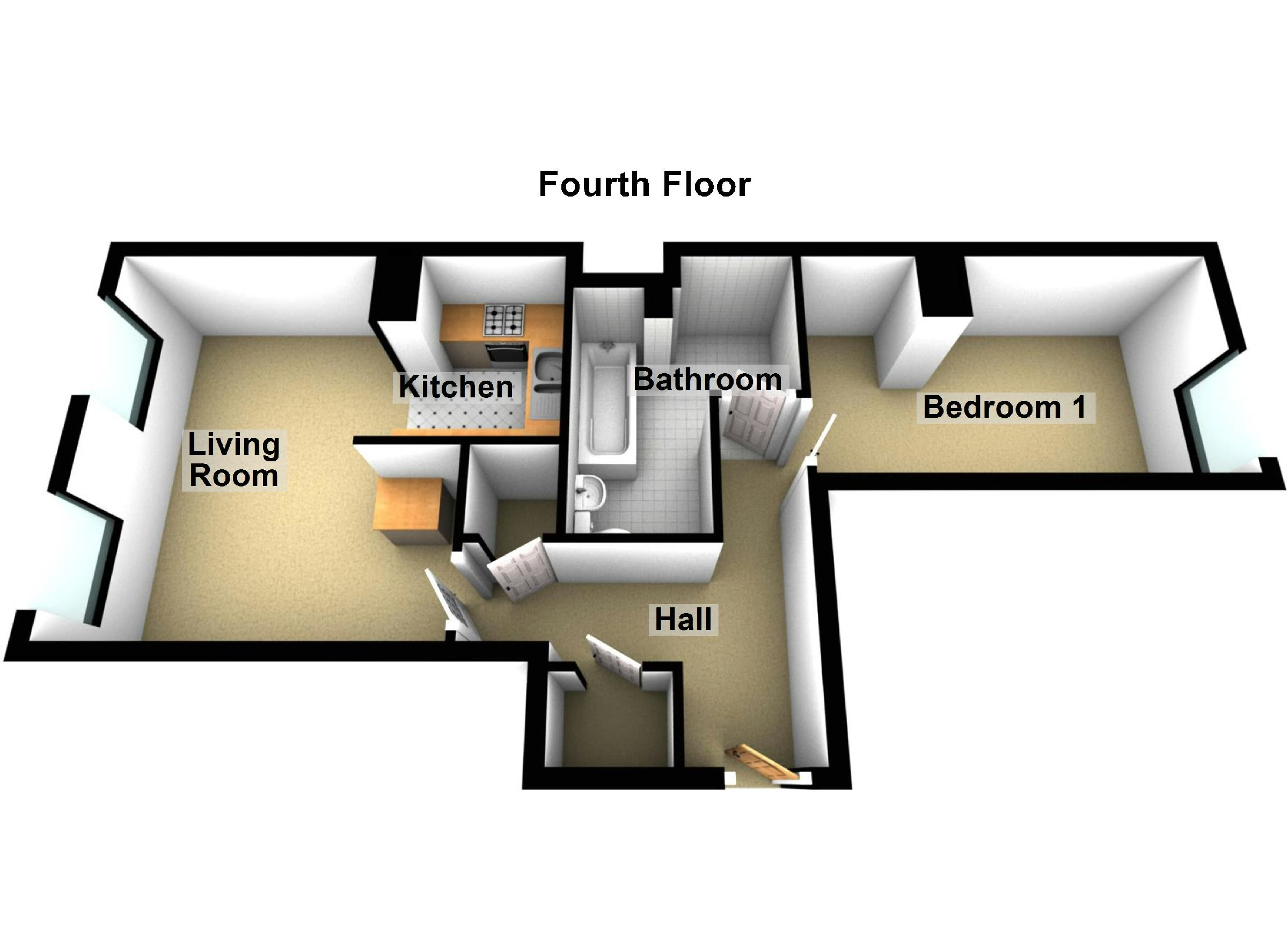 1 Bedroom Flat For Sale In Grimsby