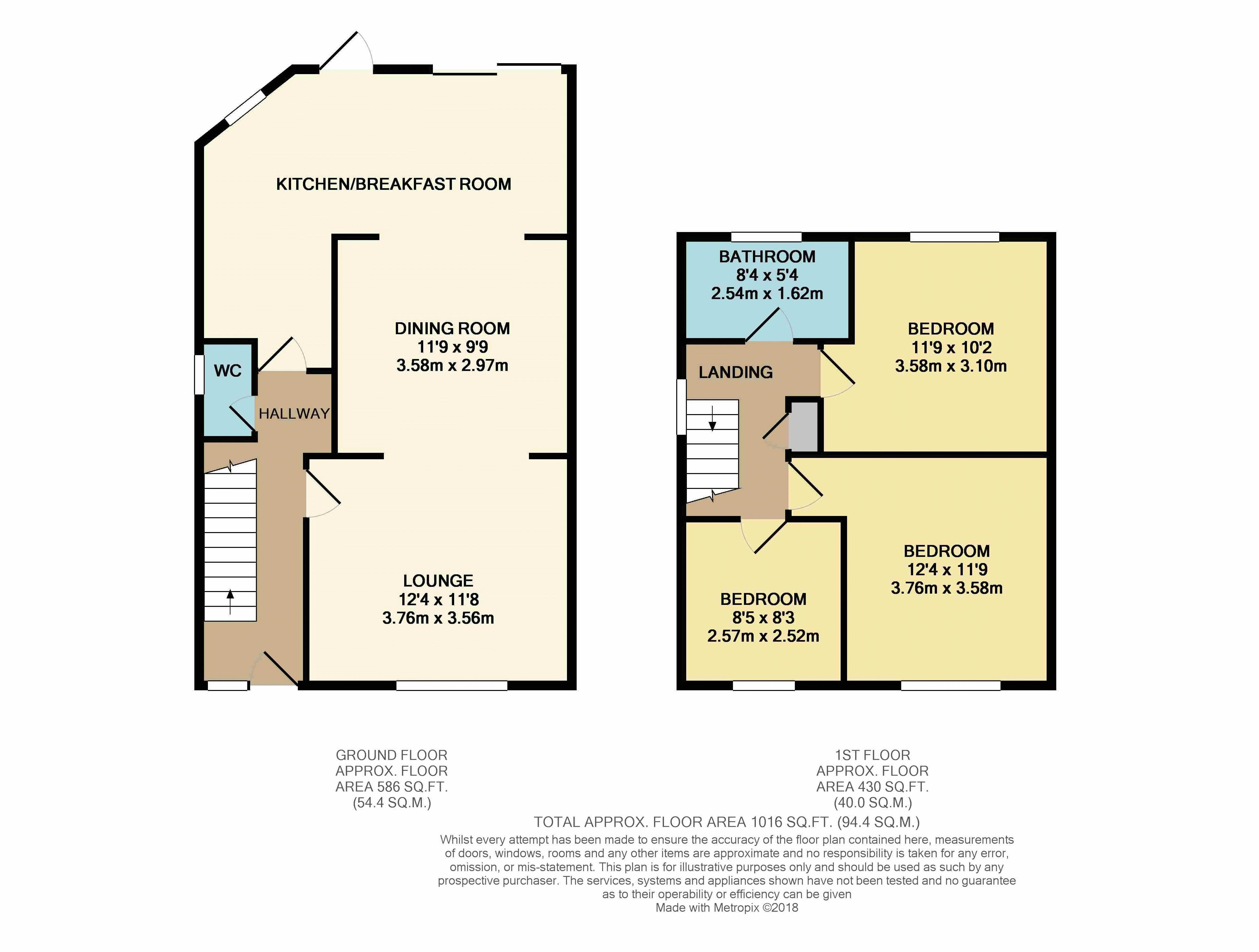3 bedroom house for sale in luton for How much is a bathroom worth on an appraisal