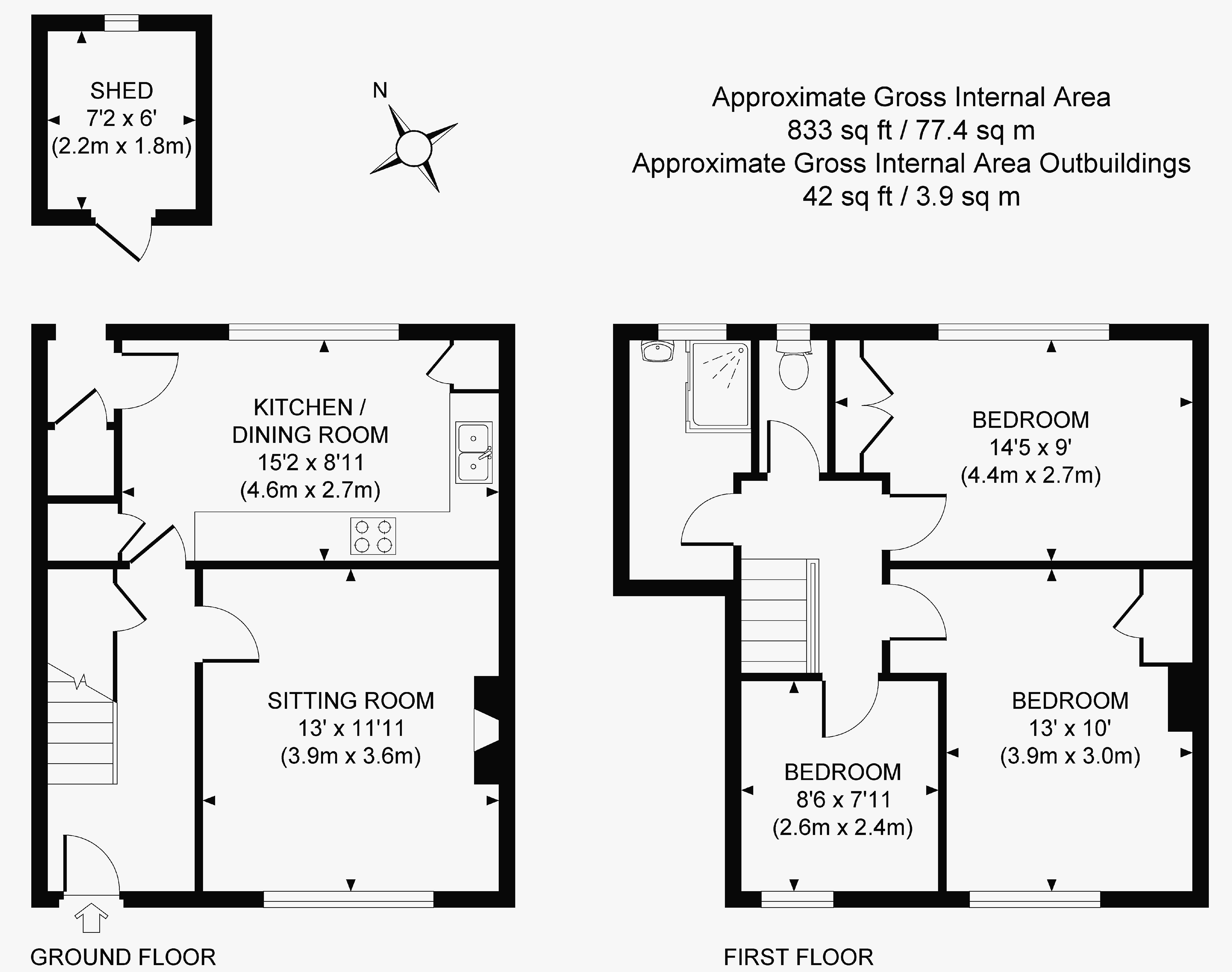 3 Bedroom Terraced House For Sale In Lindfield Epc Fuse Box Floorplan
