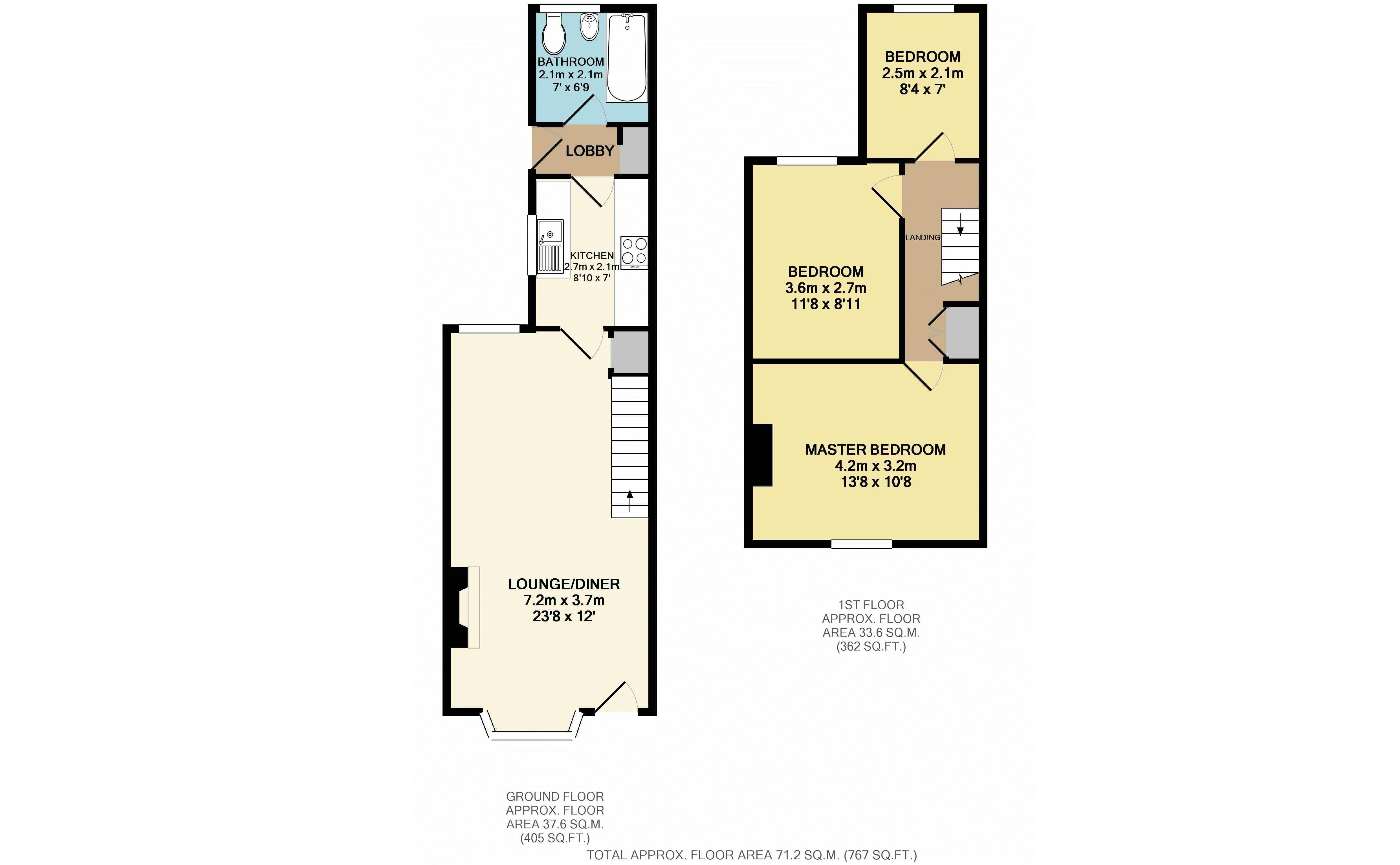 3 bedroom house for sale in leighton buzzard for How much is a bathroom worth on an appraisal