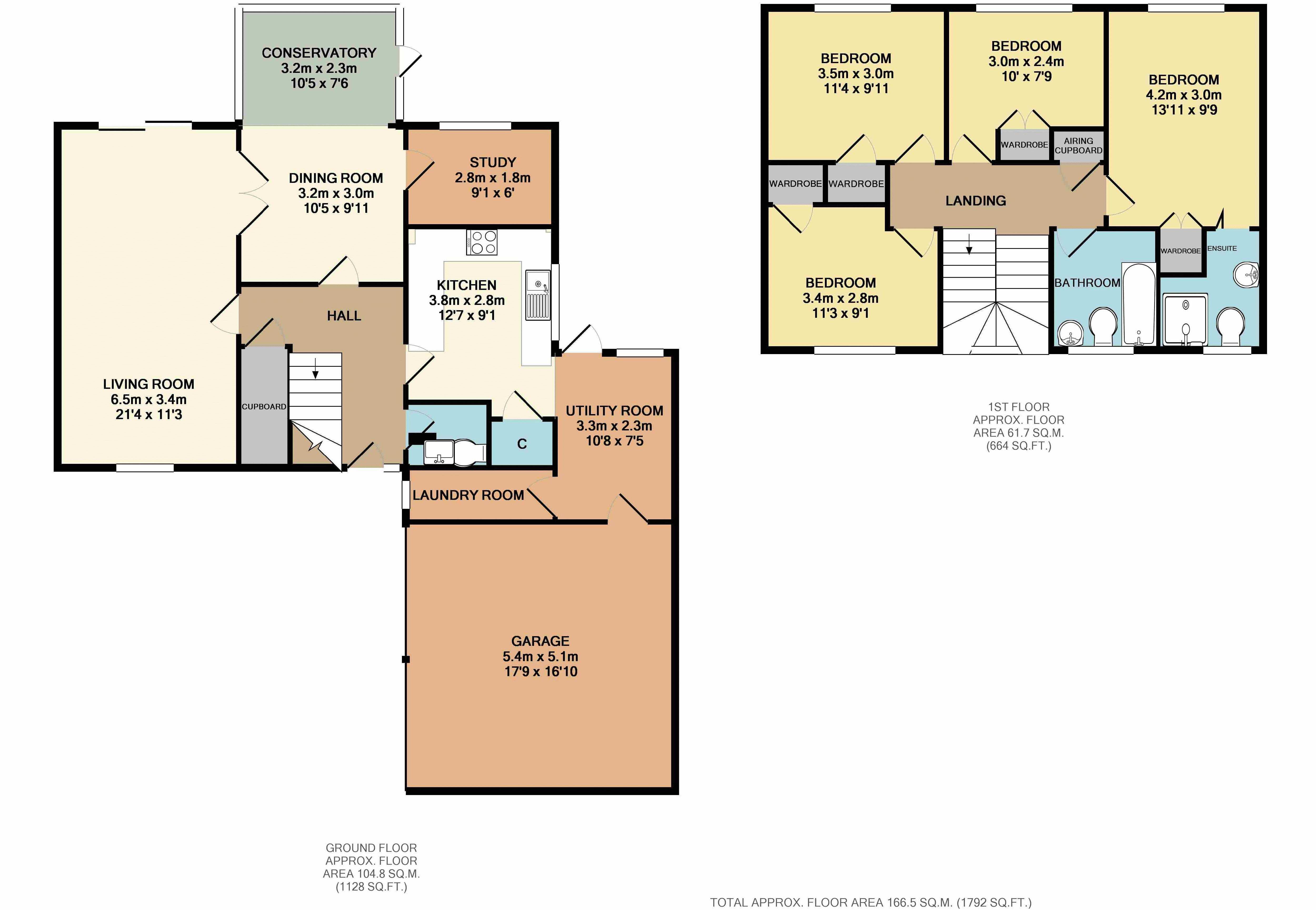 4 bedroom house for sale in leighton buzzard for How much is a bathroom worth on an appraisal